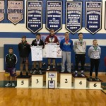 152 Pound Medalists sponsored by Kelly's Sports