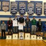 160 Pound Medalists, sponsored by PJW Area XIII
