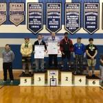 195 Pound Medalists, sponsored by Signarama