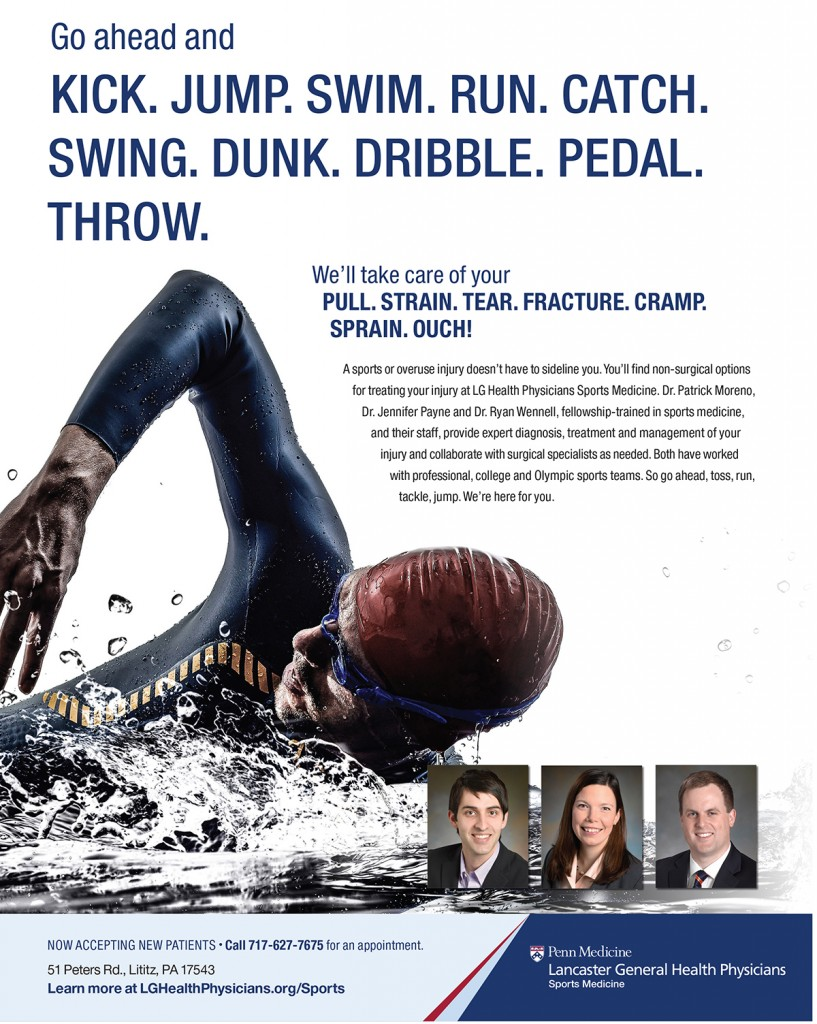 LL Swim Sponsorship Ad Swimmer Jan 2018